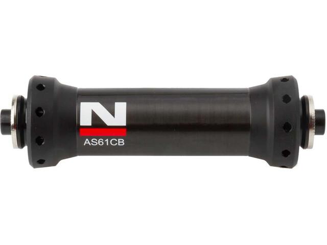 Novatec Ultralight Vorderradnabe Rennrad Carbon schwarz